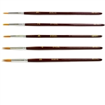 DIXCEL Synthetic Red Sable Brushes