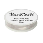 Elastic Stretch Cord - Clear
