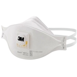 3M Disposable Particulate Flatfold Respirators