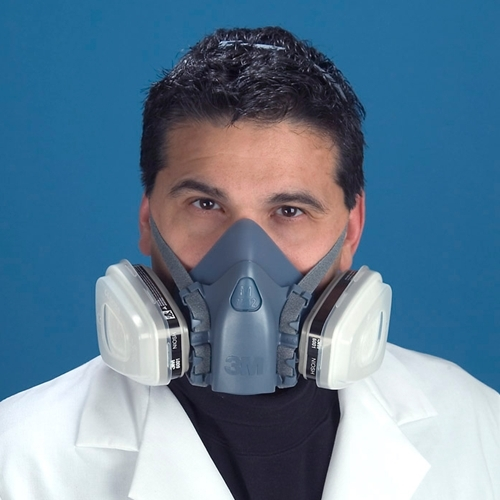 3m 7502 half mask respirator