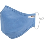 Blue Premium Comfort Reusable Mask Small/Medium