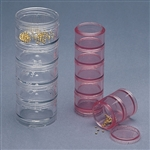 Stackable Round Tray Sets