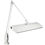 "Dazor® Fluorescent 43"" Reach Floating-Arm Lamps"