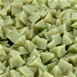Light Green Plastic Pyramids, 400 grit