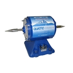 Quatro CoolBlue Buffing Motors, Double Spindle