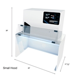 Quatro Investment Particle Containment Stations, Small & Large