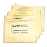 Quatro JetStream Tall Filter Bag Filters, quantity of 5.