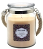 Crystalo Creations Macintosh Scented Candle with Rope Handle, 18 Ounce