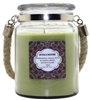 Crystalo Creations Melons 3 in 1, Watermelon, Honeydew, Golden Melon Scented Candle with Rope Handle, 18 Ounce