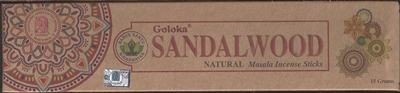 Goloka Incense - Organica Series - Sandalwood