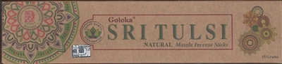 Goloka Incense - Organica Series - Sri Tulsi