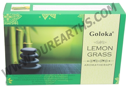 Goloka Incense - Aromatherapy Series Lemongrass