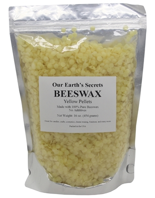 100% Pure Natural Beeswax Pellets