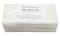 Our Earth's Secrets 2 Lbs (907 grams) Shea Butter Melt and Pour Soap Base
