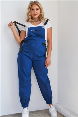 Orange Coverall Jumpsuit Joggers