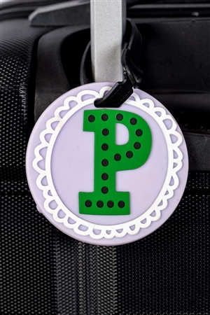 Circle P Luggage Tag