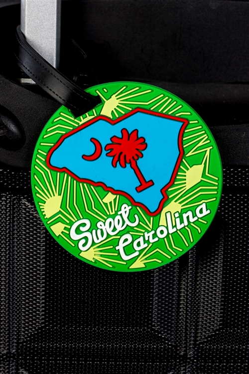 Sweet Carolina Luggage Name Card