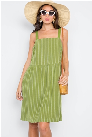 Fern Overall Shift Dress