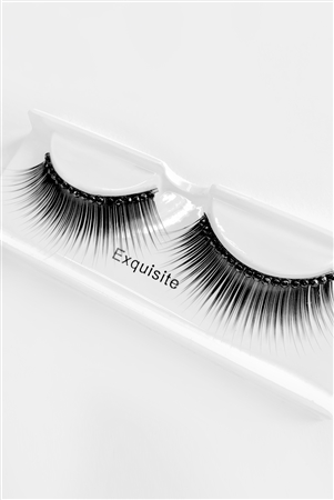 Black Tie False Enhance Eye Lashes /6 pairs
