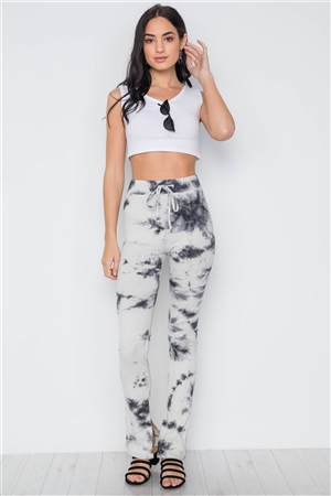 Boho Tie Dye Bell Bottom Pants