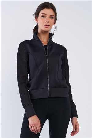 Scuba Diving High Quality Activewear Tunic Zip Up Jacket