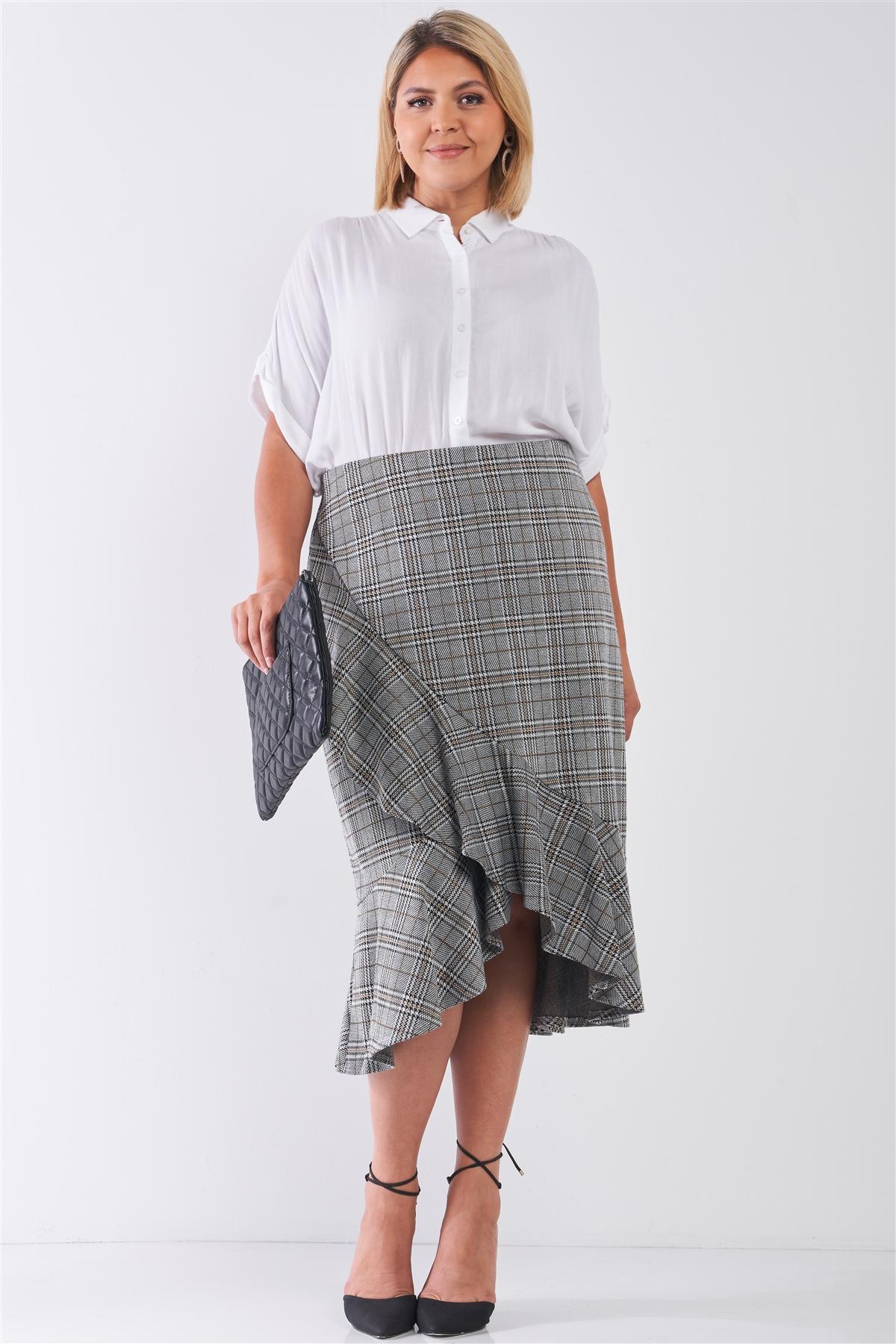 c532952105 Long Gray Skirt Plus Size - Gomes Weine AG