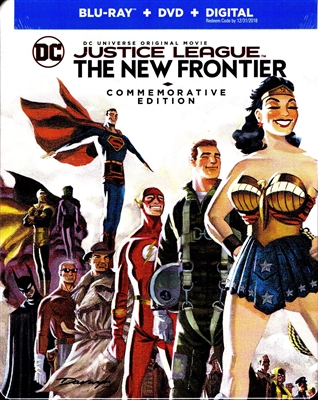Justice League: The New Frontier  - Commemorative Edition SteelBook (BD/DVD + Digital Copy)