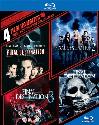 Final Destination Anthology Collection 1-4