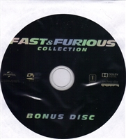 Fast and Furious 1-6 Wheel Collection Bonus Disc