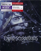 Edward Scissorhands: 25th Anniversary Edition SteelBook (BD + Digital Copy)(Exclusive)