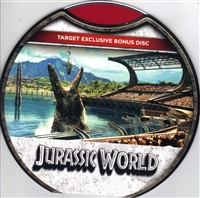 Jurassic World Bonus Disc w/ Artwork (Exclusive)