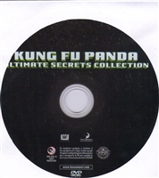 Kung Fu Panda Ultimate Secrets Collection Bonus Disc