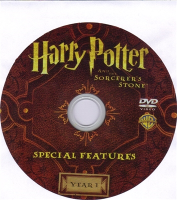 Harry Potter and the Sorcerer's Stone DVD Bonus Disc