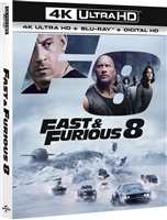 The Fate of the Furious 4K (BD + Digital Copy)