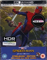 Spider-Man: Homecoming 3D & 4K SteelBook (BD + Digital Copy)(UK)