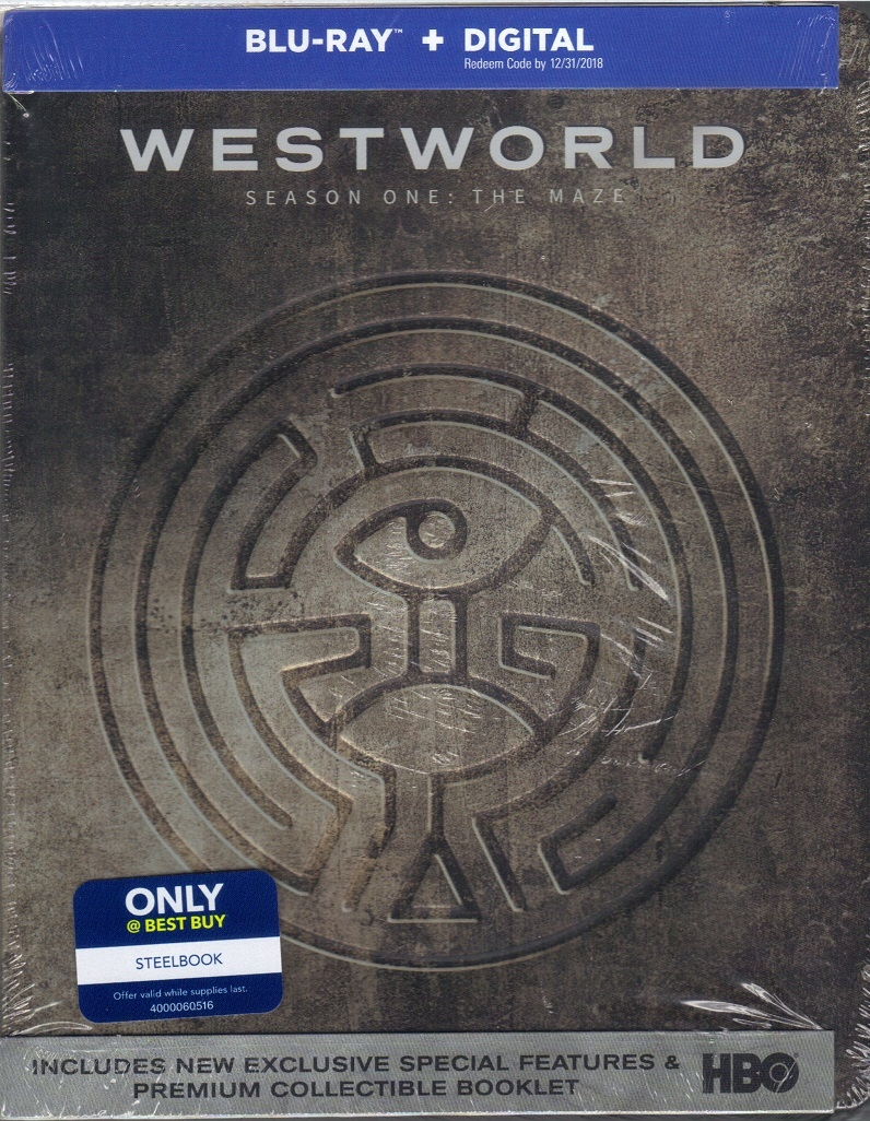 Westworld: Season 1 - The Maze SteelBook (BD + Digital Copy)(Exclusive)