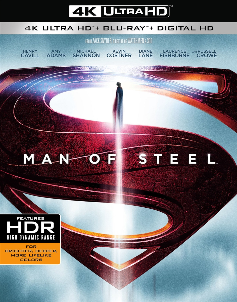 Man Of Steel 4k Slip