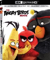 The Angry Birds Movie 4K & 3D (BD + Digital Copy)