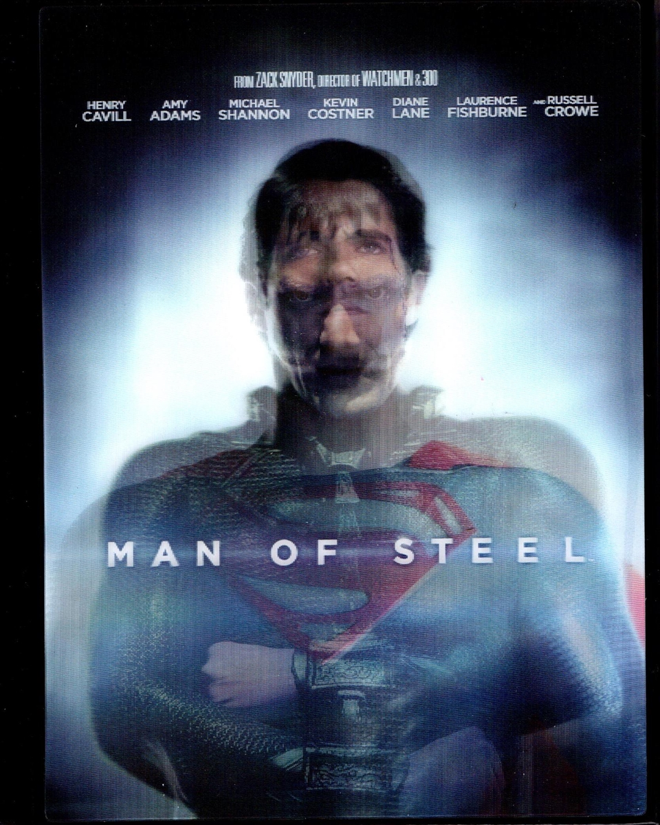 Man Of Steel Digibook W Bonus Feature Bd Dvd Digital Copy Exclusive