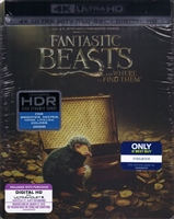 Fantastic Beasts and Where to Find Them 4K SteelBook (BD/DVD + Digital Copy)(Exclusive)