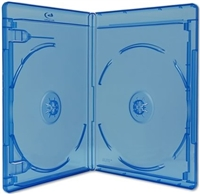 Empty 2-Disc Viva Elite Blu-ray Cases (12.5mm)