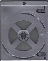 Empty 2-Disc Silver Eco Viva Elite Blu-ray Case (12.5mm)