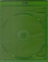 Empty 2-Disc Green Viva Elite Blu-ray Case (12.5mm)