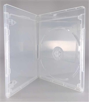 Empty 1-Disc Clear Viva Elite Blu-ray Case (NO LOGO)(12.5mm)