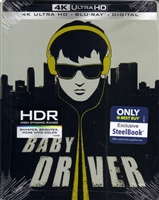 Baby Driver 4K SteelBook (BD + Digital Copy)(Exclusive)
