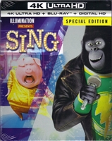 Sing 4K SteelBook (BD + Digital Copy)(Exclusive)
