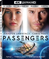 Passengers 3D & 4K (2016)(BD + Digital Copy)