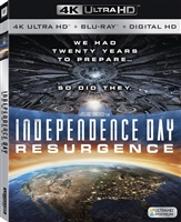 Independence Day: Resurgence 4K (BD + Digital Copy)