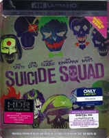Suicide Squad: Extended Cut 4K SteelBook (BD + Digital Copy)(Exclusive)