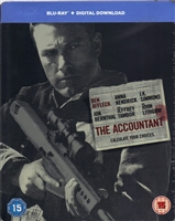 The Accountant SteelBook (BD + Digital Copy)(UK)